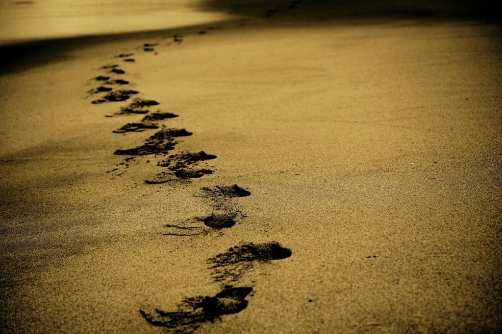footprints Alex Wigan Unsplash