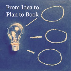 Idea to plan to book