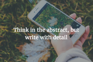 Writing in the Workplace: Abstract Concepts