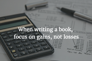 Does Loss Aversion Prevent You From Writing?