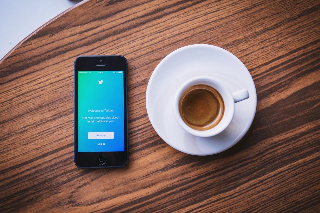coffee social media