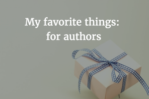 A Few of My Favorite Apps (for Authors)