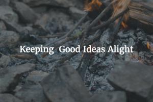 Saving Unwritten Ideas for Later