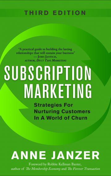 Subscription Marketing, 3rd Edition