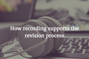 Recording as Revision