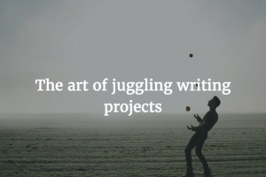 Writing Challenges: Focusing on One Project