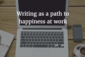 Share Your Love of Writing on the Job