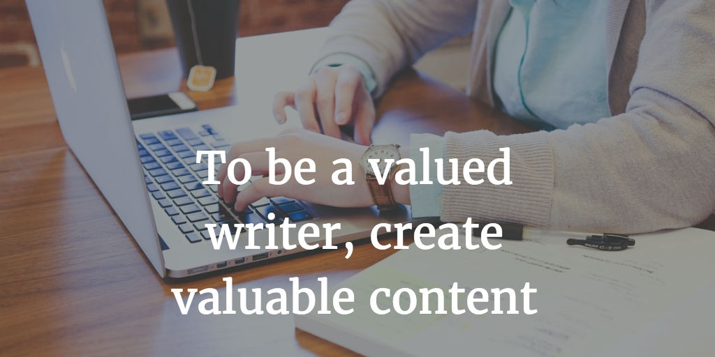 valued writer
