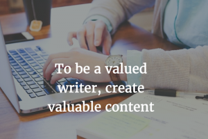 Anyone Can Write, But …