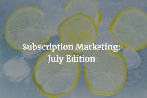 Subscription Marketing: Protests and Pricing