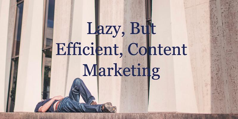 lazy but efficient