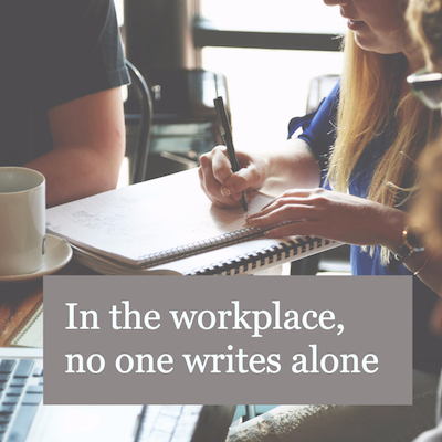 no one writes alone