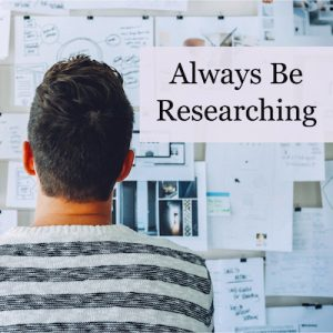 The Five Phases of Book Research