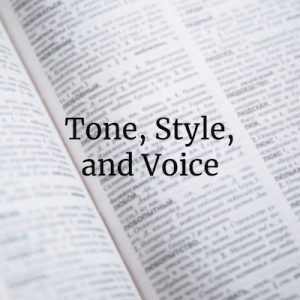 How to Talk about Tone, Style, and Voice in Writing