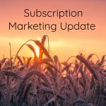 Subscription Marketing Update: October 2018