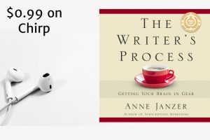Audiobook: The Writer's Process for 99 cents