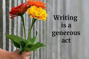 Three Reasons to Write, Especially Now