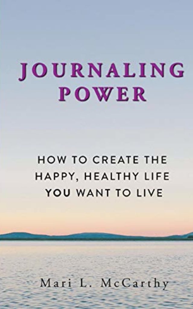 The cover of the book Journaling Power.
